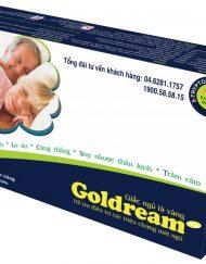 Goldream điều trị các triệu chứng mất ngủ, cho giấc ngủ ngon