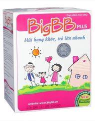 BigBB Plus mũi họng khỏe, trẻ lớn nhanh