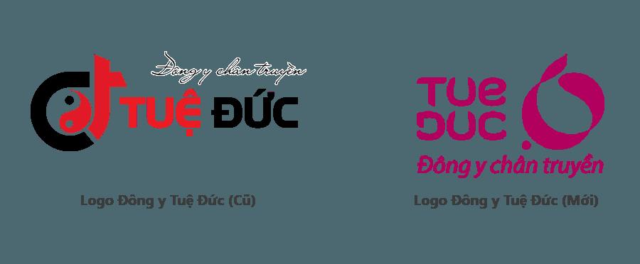 Tuệ Đức thay đổi logo