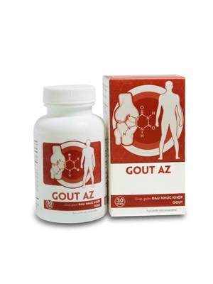 Gout AZ Giảm đau khớp - Hỗ trợ điều trị gout