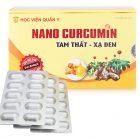 Nano Curcumin Tam Thất Xạ Đen, Học Viện Quân Y
