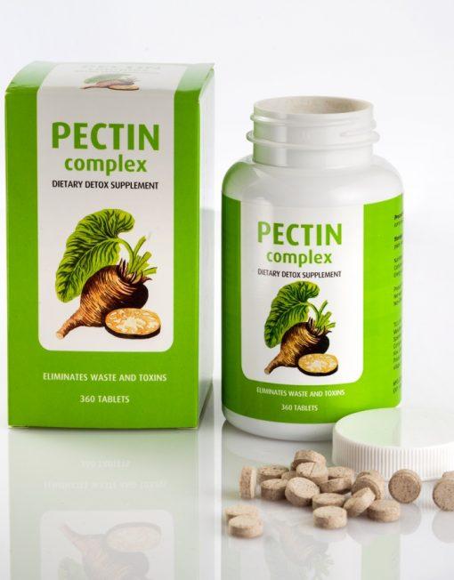 Pectin Complex thải độc chì, kim loại nặng, độc tố khỏi cơ thể