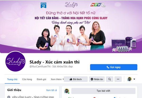 Fanpage chính thức của SLady